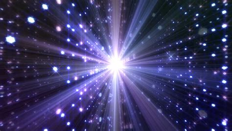 Sparkling Lights by Sparkle Light Space Stock Footage 2765993
