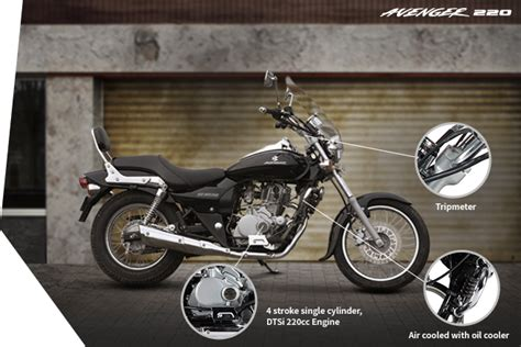bajaj avenger 220cc bike best cruiser bike bajaj avenger 220 overview
