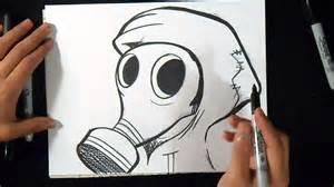 243 mo dibujar mascara gas graffiti