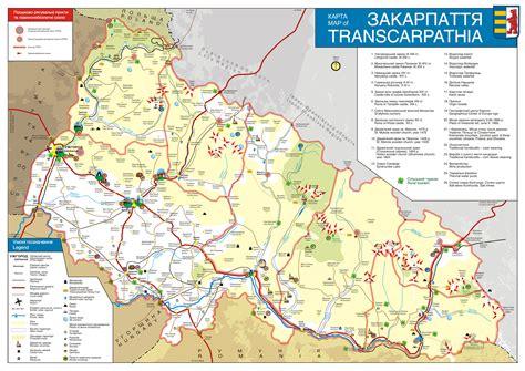 ua map ukraine about interesting places