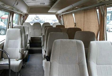 seater toyota van hire delhi toyota coaster minivan rental service india