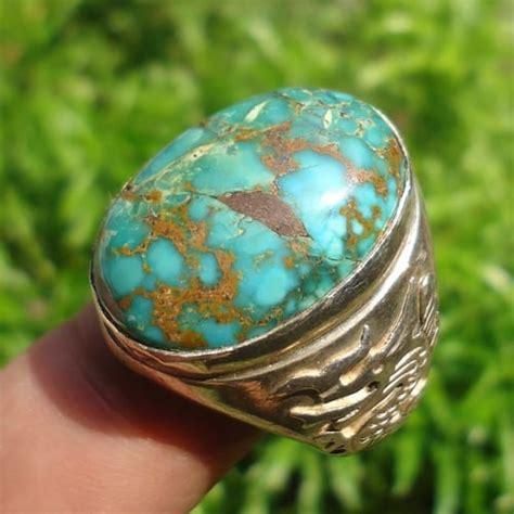 Cincin Cewe Batu Pirus Urat Emas 4 cincin pirus urat emas pusaka dunia