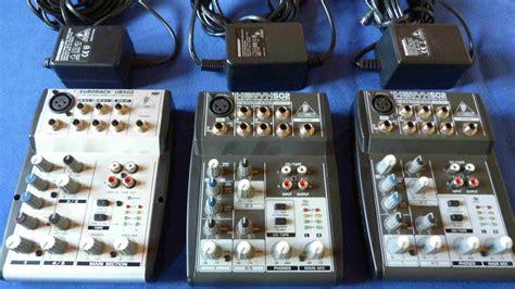 Mixer Behringer Xenyx 502 behringer xenyx 502 image 689458 audiofanzine