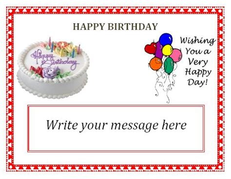 editable card templates free 9 beautiful free editable birthday invitation templates