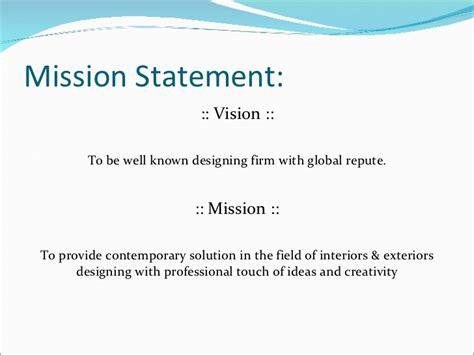 game design vision statement 68 interior design mission statement exles