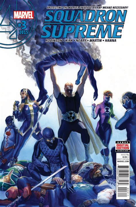 squadron supreme exclusive preview squadron supreme 3 comic vine