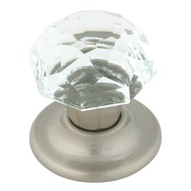 Glass Door Knobs Lowes Decorative Amerock Glass Door Knob At Lowes Knobs Hardware Doors House