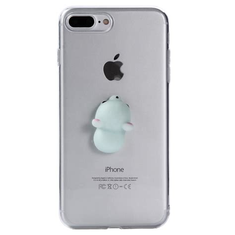 Soft Casing 3d Tpu Iphone 7 Original 3d soft squishy animal tpu soft clear back cover