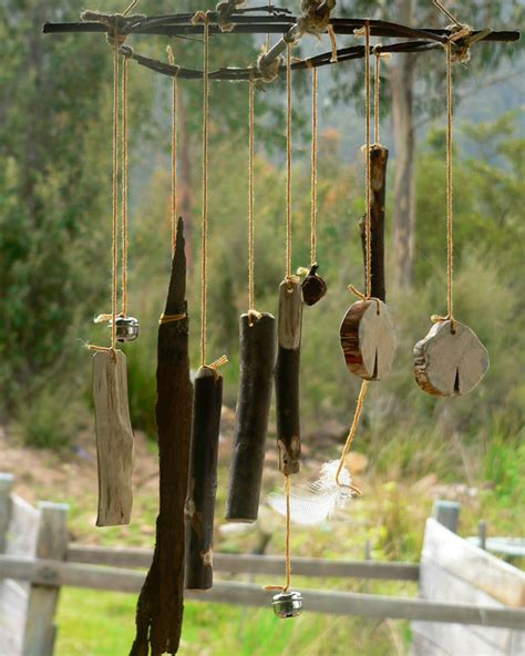 Handmade Windchimes - along with the tingling of wind chimes these things
