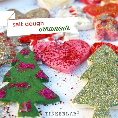 salt dough ornaments recipe salt dough ornaments and decorations tinkerlab