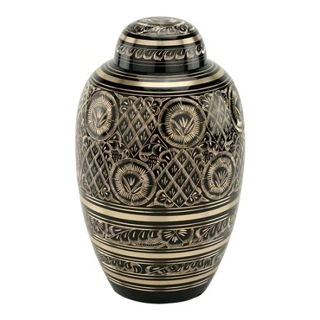 cremation urns radiance brass cremation urn for ashes