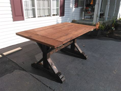 rustic farmhouse table plans chunky is the chic farmhouse table plans you need to see