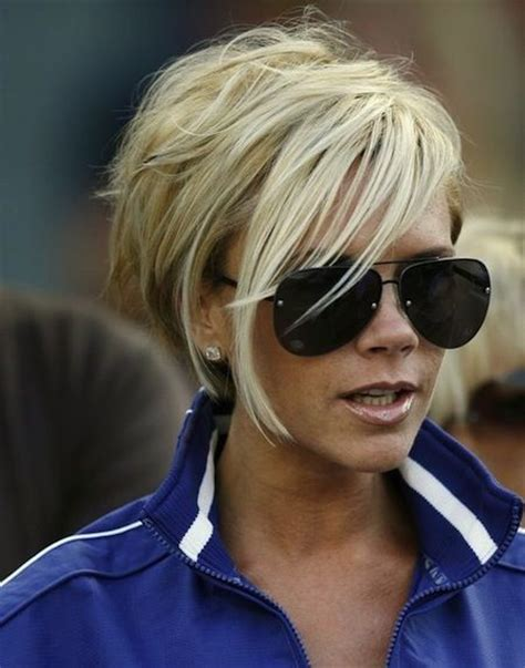 hair styles for helmets victoria beckham hair styles stunning short celebrity