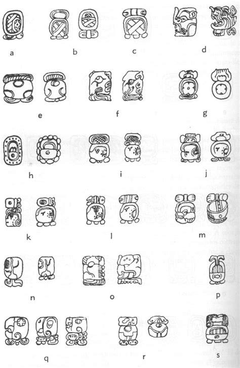 Calendario Azteca Signos El Alfabeto