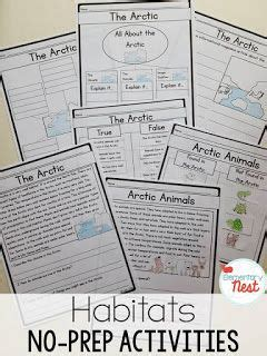 Habitats Worksheets 2nd Grade by 1000 Images About 2nd Grade Wanna Be On