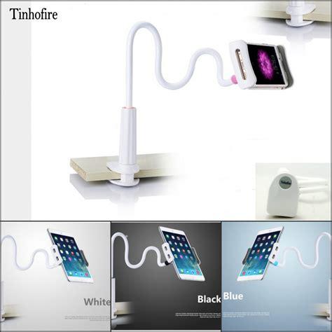 Jual Tablet Stand Holder by Tinhofire 75cm White 360 Rotating Lazy Arm