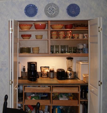 Difference Between Kitchen And Pantry by Kitchen Clutter The Working Pantry Is The Cure