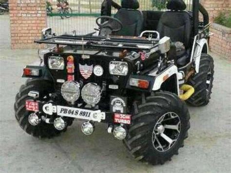 open jeep modified in black colour modified willy jeep mitula cars