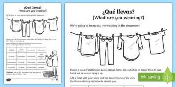 what color are you wearing what are you wearing worksheet worksheet