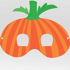 printable pumpkin mask free printable halloween masks party delights