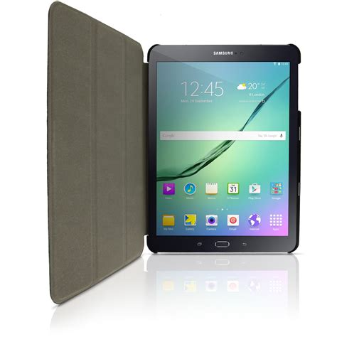 Batre Samsung Tab 2 Original igadgitz pu leather smart cover for samsung galaxy tab s2 9 7 quot sm t810 stand auto sleep