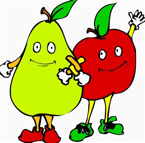 Kipas Lucu Kartun Dan Line 1 gambar kartun buah lucu aneka jenis buah buahan segar