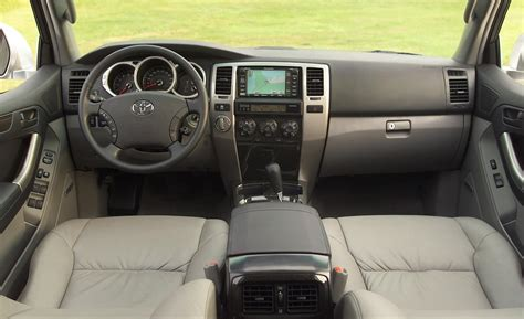2003 Toyota 4runner Interior Car And Driver