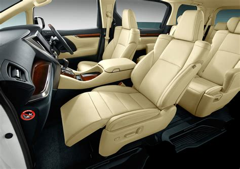 Interior Home Colors 2015 Toyota Alphard And Vellfire Unveiled Full Details