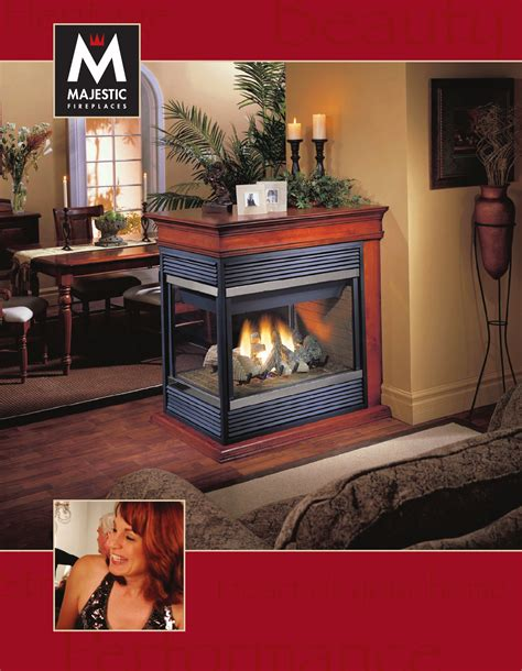 Majestic Fireplace Manual by Majestic Indoor Fireplace Dvrtsb User Guide