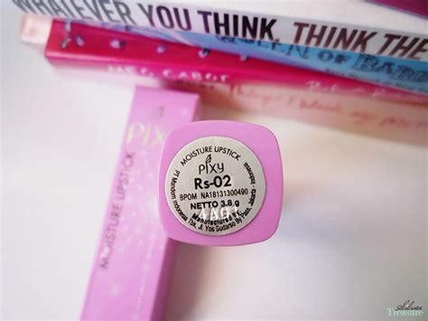 Lipstik Pixy Moisture pixy moisture lipstick rs 02 silver treasure
