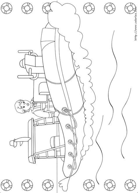 dessin bateau pompier coloriage neptune