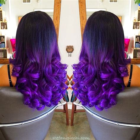 black n purple hair mermaid hair color on black hair www pixshark com