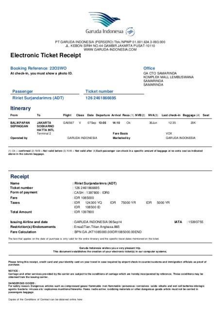 ticketmaster receipt template tips untuk mereka yang baru pertama kali naik pesawat