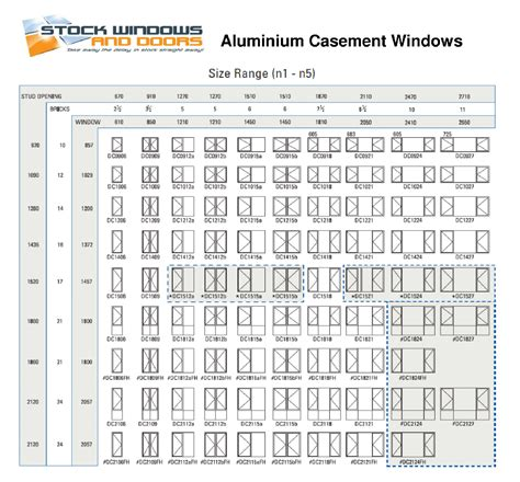 awning sizes chart standard awning window sizes 28 images timber double