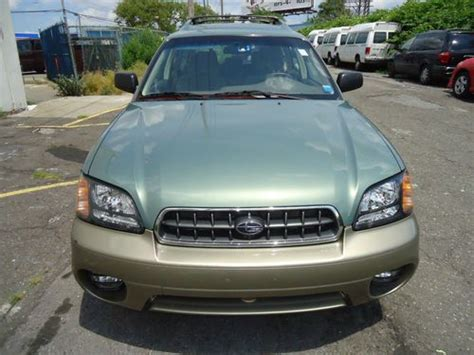 all weather package subaru outback find used 2004 subaru legacy outback all weather package
