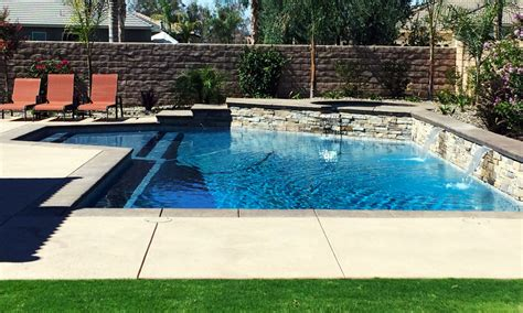 geometric pool greecian pools bakersfield ca geometric swimming pools
