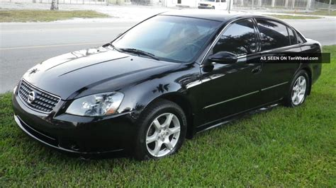 nissan coupe 2005 2005 nissan altima s sedan 4 door 2 5l