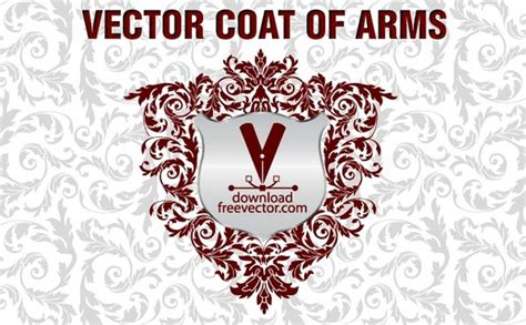 design free coat of arms vector coat of arms free vector in adobe illustrator ai