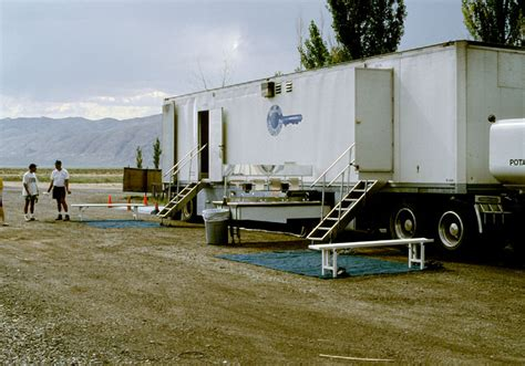 Truck Shower by Shower Truck At Csite