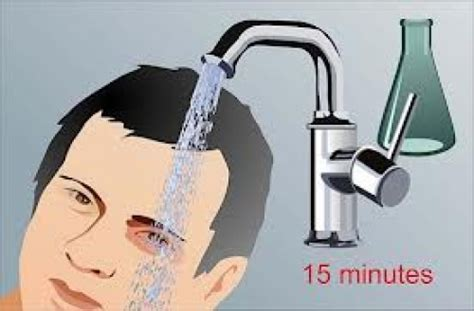 How To Put On A Bathtub Faucet First Aid How To Treat Chemical Splash In The Eye
