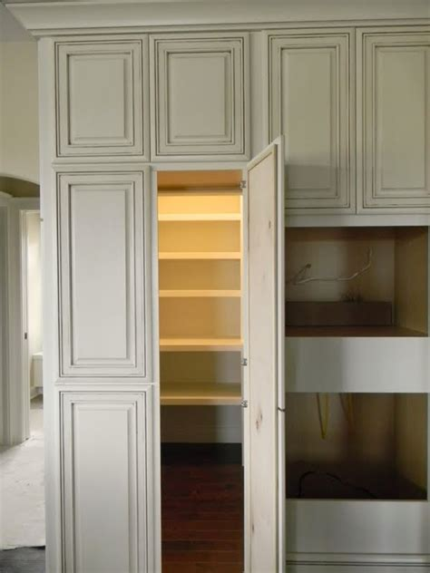 walk in pantry looking like a cabinet for the home