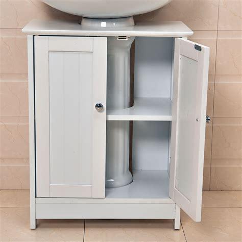 wooden bathroom sink unit undersink bathroom cabinet cupboard vanity unit under sink