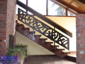 designer handrails contemporary wooden railing ideas for staircase interior