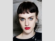 Baby bangs: The ultra-short trend Giles