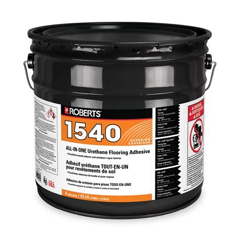 ALL IN ONE Urethane Flooring Adhesive   Roberts Consolidated