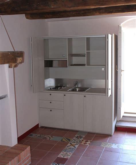 Cucine A Scomparsa Con Ante Scorrevoli by Mini Cucine Monoblocco A Scomparsa Progettate Per Piccoli