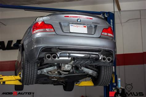 bmw 128i performance exhaust bmw 135i diffuser tip bmw free engine image for