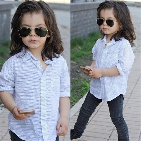 this 2 year old harry styles mini me is showing one meet harry styles mini me stylish two year old michael
