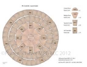 Fire Pit Pavers Home Depot - pavers circle kit 4ft layout guide photo