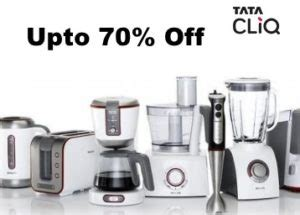 kitchen appliance sale tatacliq anniversary sale kitchen appliances sale upto